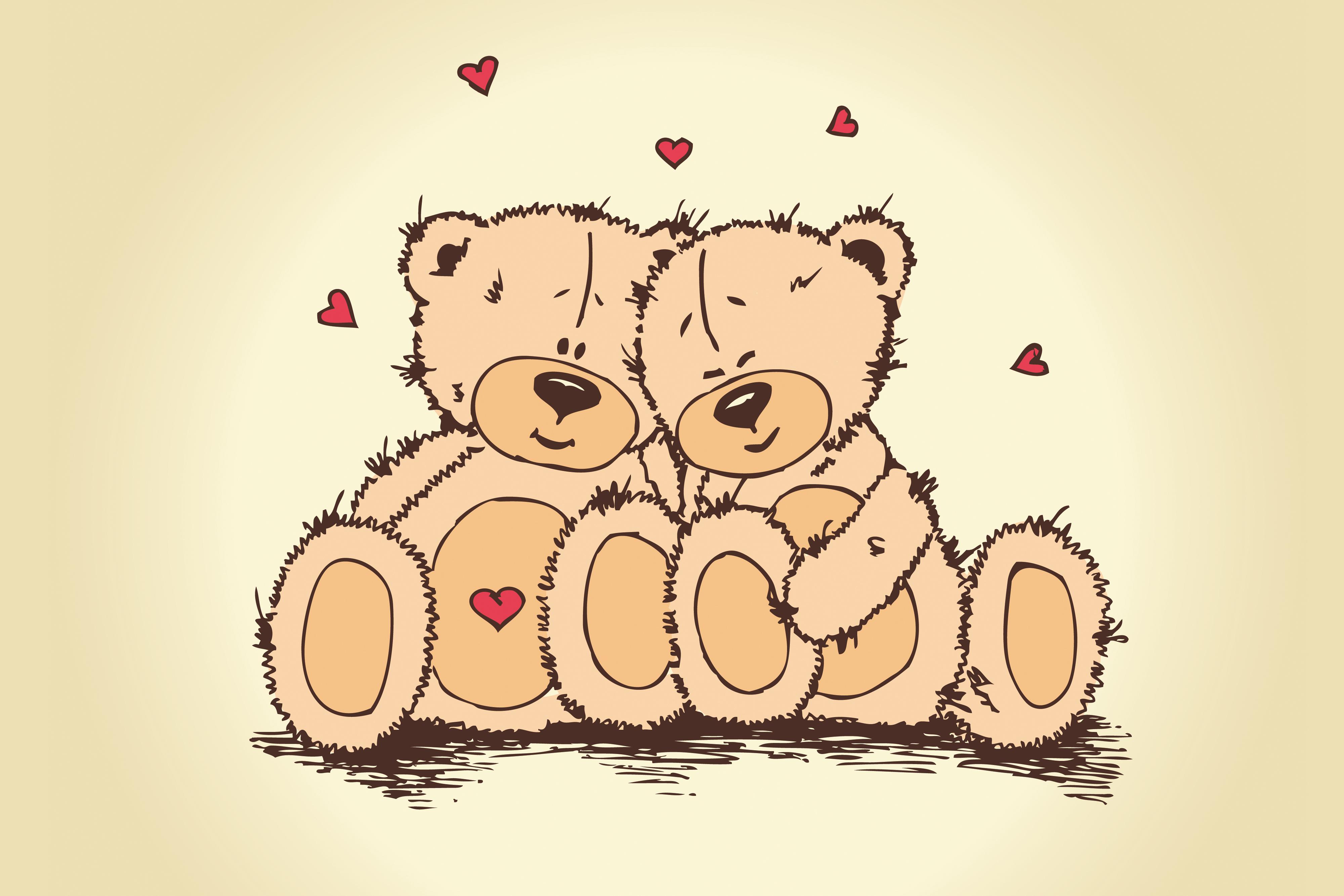 valentines bear 1