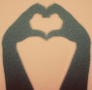 heart hands photo
