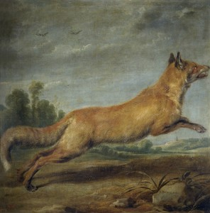 Paul_de_Vos_-_Running_fox
