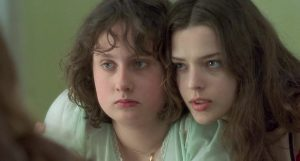 Film still from Fat Girl