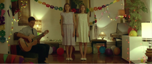 Film still from Dogtooth